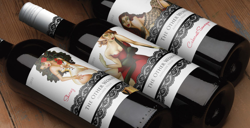 The Other Woman Bespoke Wine Label Design