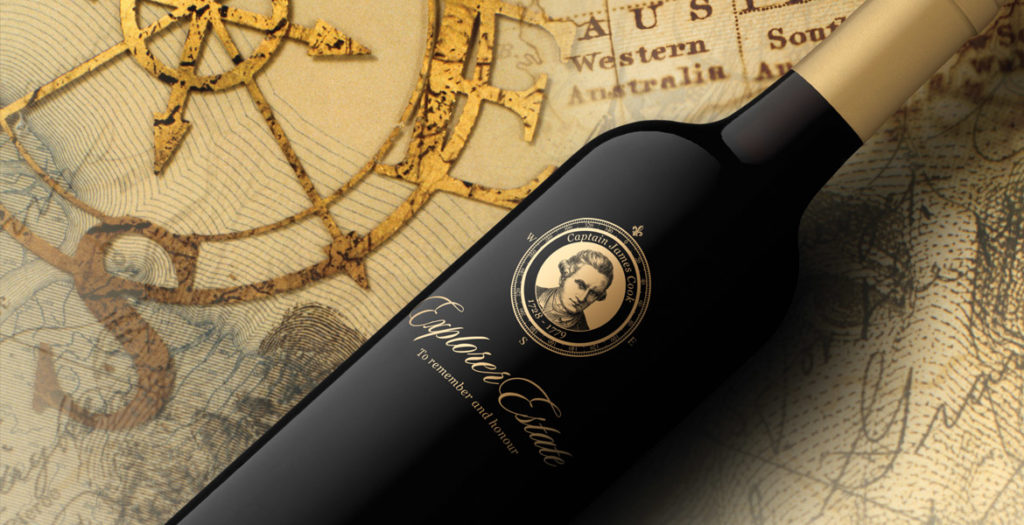 Explorer Estate Wine Label Design
