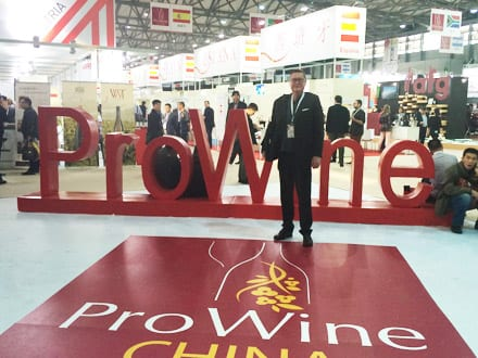 ProWine China 2014 - John