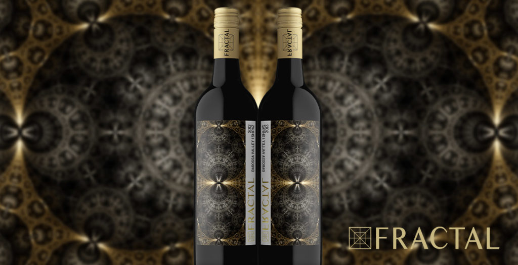 Fractal Bespoke Wine Label Design