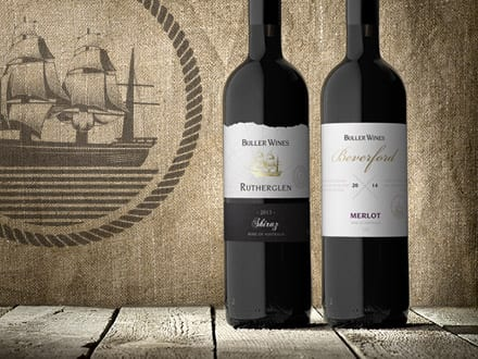 Buller Wines Beverford & Rutherglen Ranges