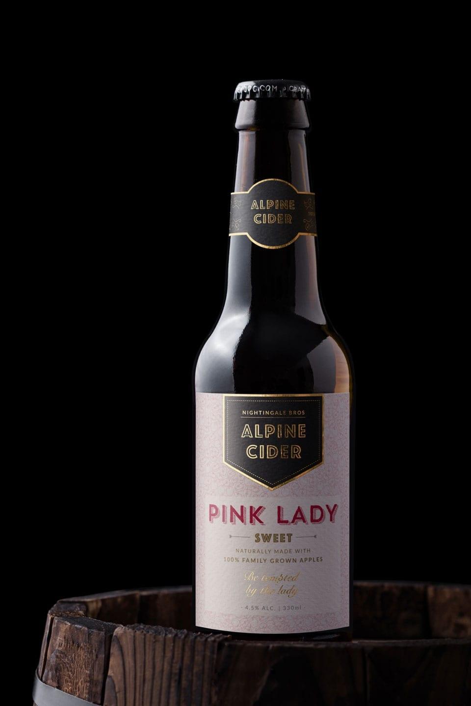 Cider Label Design Alpine Cider