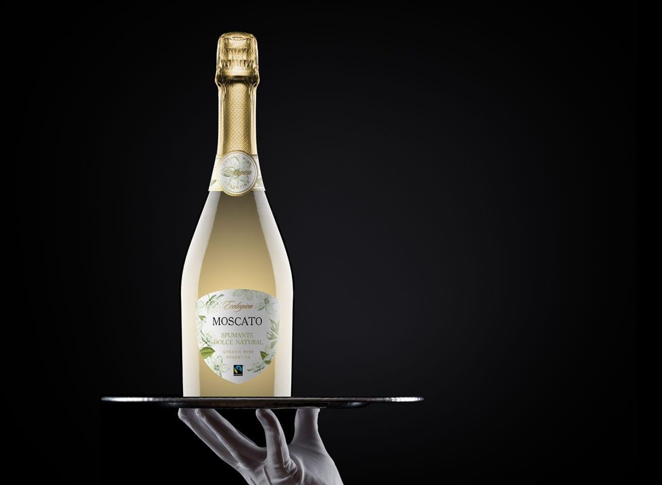 Wine Label Design Ecologica Moscato