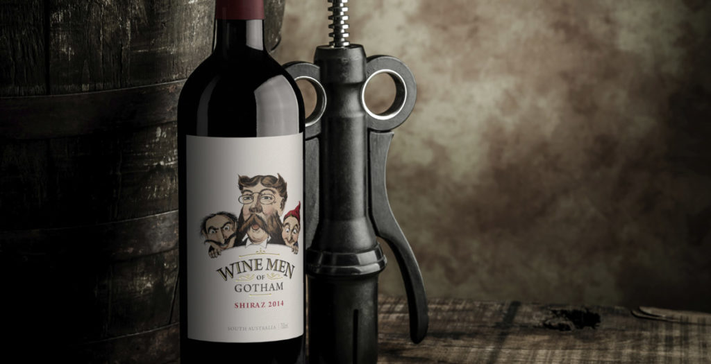 Wine Men of Gotham Wine Label Rejuvenation