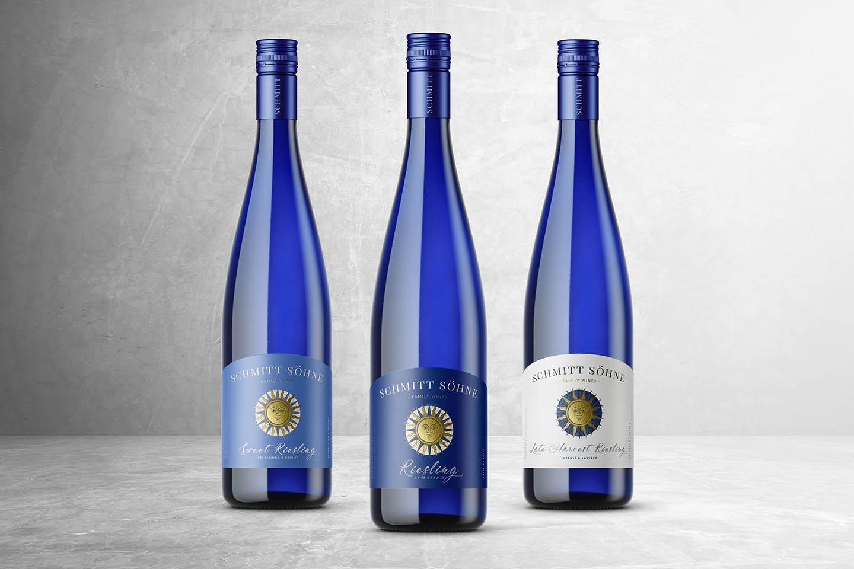 Wine Label Design Schmitt Sohne