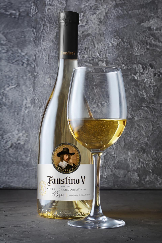 Wine Label Design Faustino V