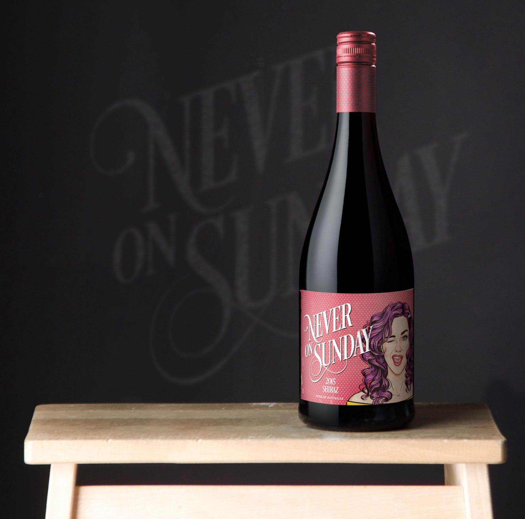 Off-the-Shelf Private Wine Label Design