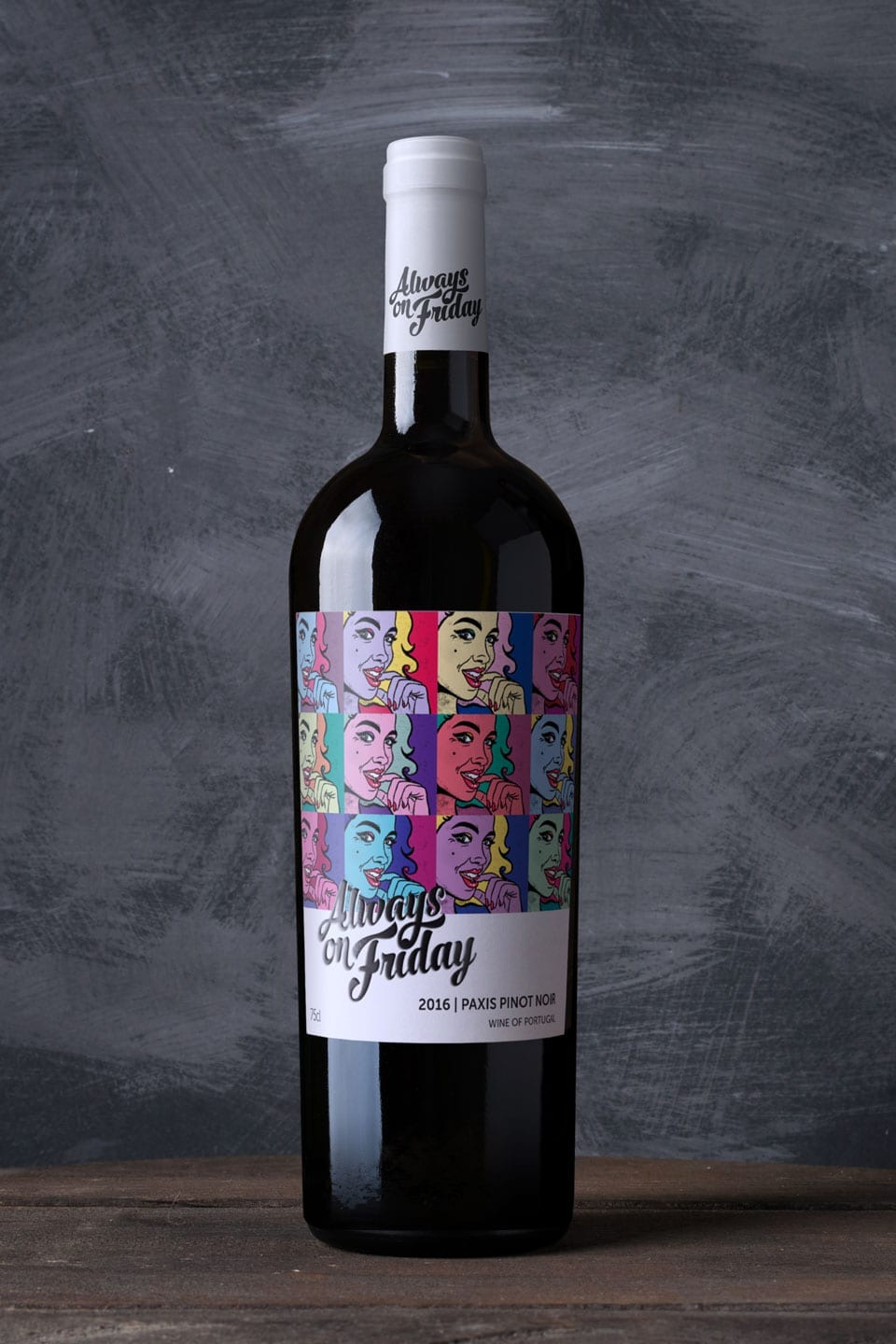 Wine Label Design Always on Friday