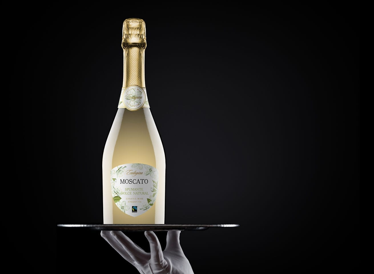 Wine Label Design Ecologica Moscato