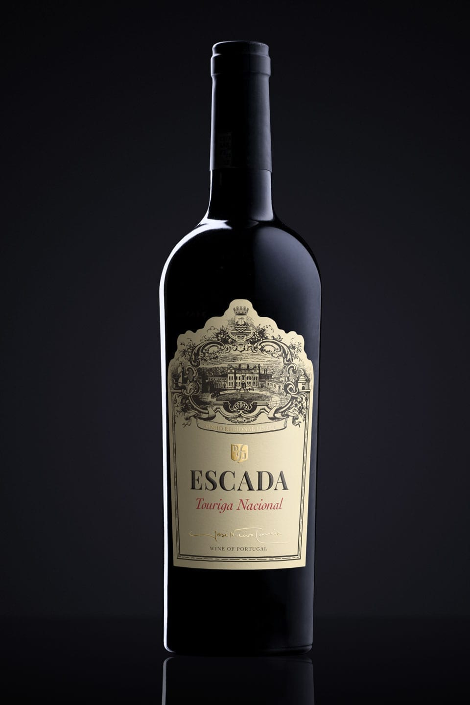 Wine Label Design Escada