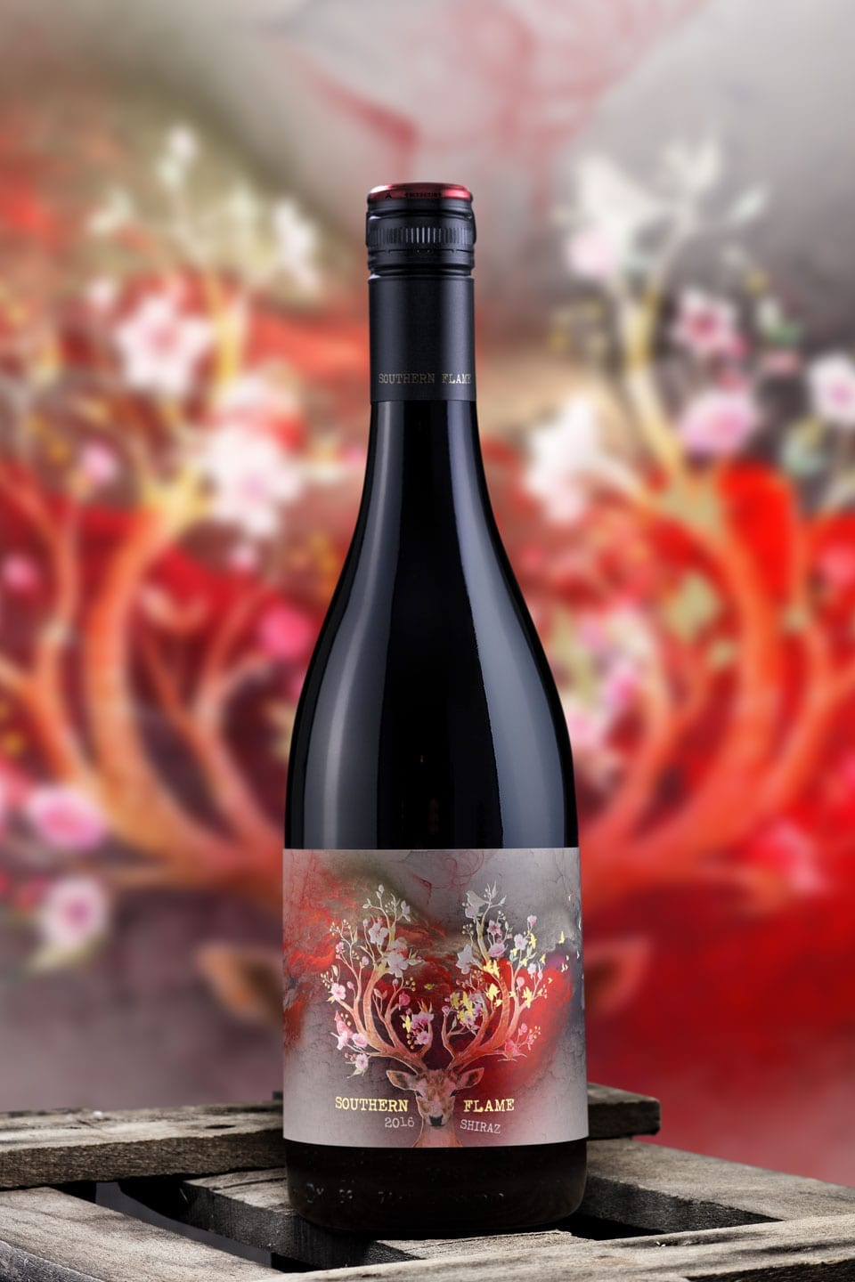 Wine Label Design Southern Flame